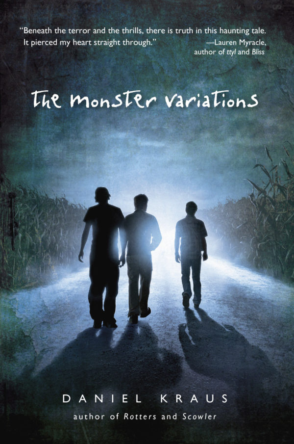 Cover of The Monster Variations